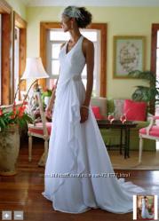 Американское воздушное свадебное платье