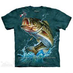 Футболки The Mountain - Рыбы - Рыбалка. Оригинал из США.