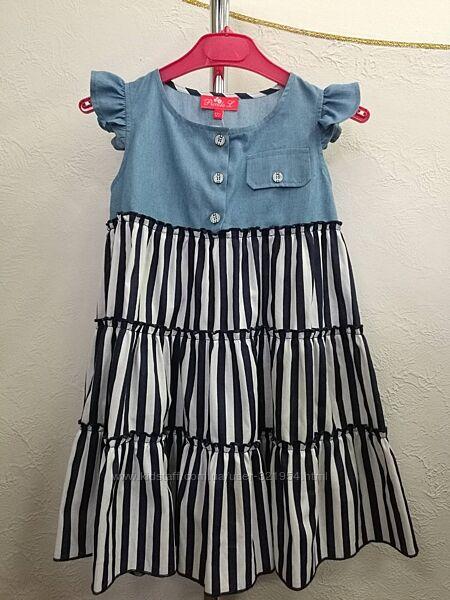 Модна сукня для дівчинки 116-146
