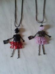 Модный кулон Кукла