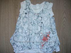 Платье сарафан необычное до 24 мес Designed in France OBАЇBІ 100 хлопок