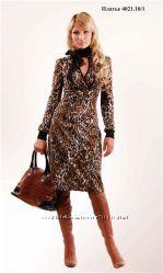 Новое элегантное платье Одди в деловом стиле нарядное 42 большемерит
