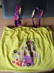 Майка майки футболка на девочку 1 2 3 года NEXT, CHICCO, dpam