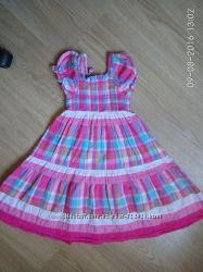 Платье сарафан на худенькую красавицу 3-4 года BLUEZOO