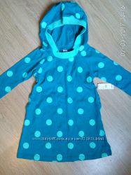 Туника платье с капюшоном OLD NAVY 2T