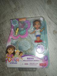 Fisher-Price набор Дора путешественница и друзья с аксессуарами браслет