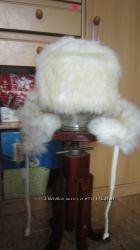 Теплая двухсторонняя шапка, 5-8 лет