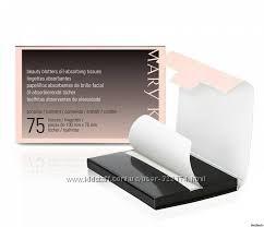 Салфетки с матирующим эффектом Mary Kay, 75 шт.