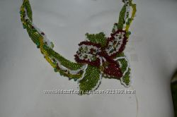Ожерелье Дикая Орхидея