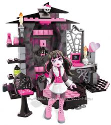 Мега блокс комната Дракулауры Mega Bloks Monster High Draculaura&acutes Vam