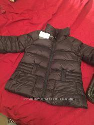 Курточка внизу широкого фасона на зиму пух