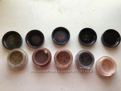 Разные Минеральные тени TANF и Lucy Minerals , крем-тени Maybelline