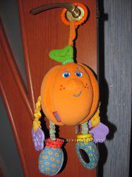 Развивающая игрушка апельсин.