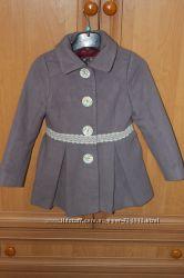 Демисезонное пальто для девочки, р. 4года 104см