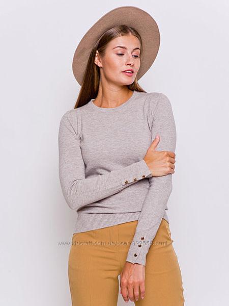 Нежный и мягкий пуловер Брит укр. 42-44 XS и S GRAND UA