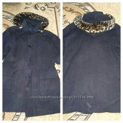 Пальто оверсайз, подойдет для беременных