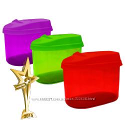 Емкости для хранения сыпучих разных объемов Giaretti