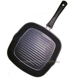 Сковорода гриль Lessner 28x28 см