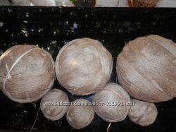 Продам натуральные льняные нитки в клубках