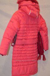 Зимнее р 104-124 пальто Коралловое 5874 GWG Gusti Boutique