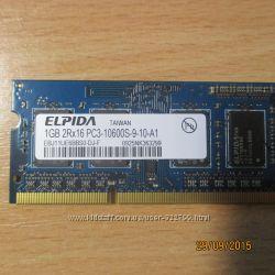продам модуль памяти для ноутбука 1 ГБ
