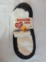 Тапочки - носки бело-серые и черно-серые Германия размер 35-38, 39-42