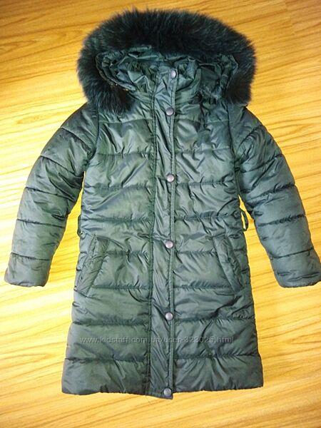 Зимняя куртка 128-134