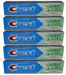 Отбеливающая зубная паста Crest Fresh and White оригинал из США