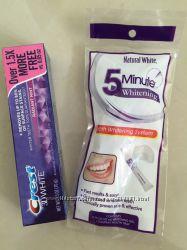 Отбеливающая зубная паста Crest 3d white в наличии оригинал США