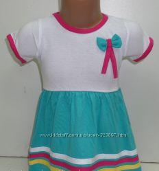 Детское летнее платье Турция рост 92, 98, хлопок