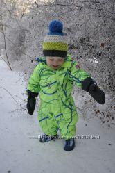 Супер стильный зимний комбинезон Reima, шапка-ПОДАРОК, отличное состояние