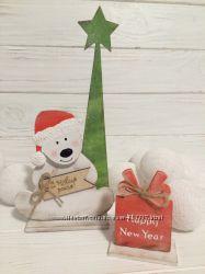 новогодний декор полярный мишка