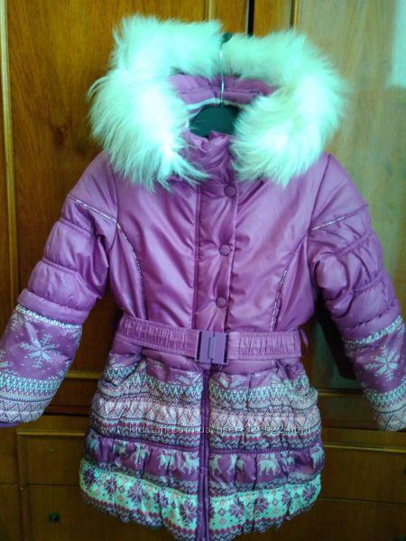 Продам пальто зимнее Донило оригинал 110-116