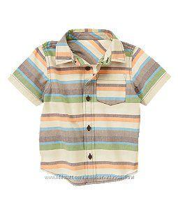 Рубашки Gymboree Crazy 3, 4, 5 лет