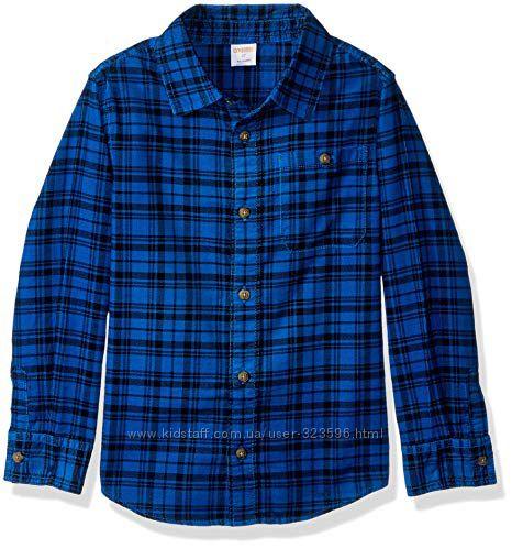 Вельветовая рубашка для мальчика 3-4, 4-5 лет Gymboree
