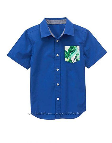 Рубашка для мальчика 6-7 лет Gymboree