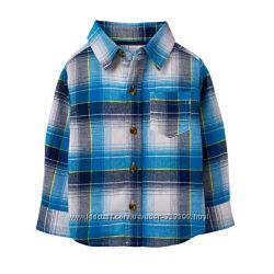 Фланелевая рубашка для мальчика 4-5 лет Crazy8