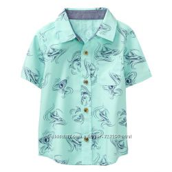 Рубашка для мальчика 5-6 лет Crazy8