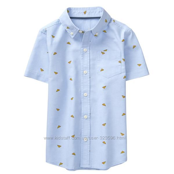 Рубашка для мальчика с пиццей 8-10 лет Crazy8