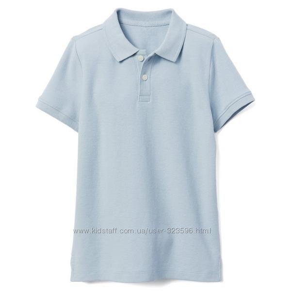 Футболка поло для мальчика 5-7 лет Pique Uniform Gymboree