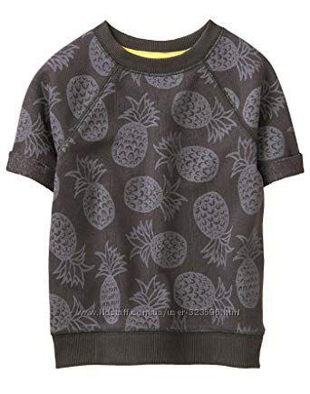 Теплая футболка для мальчика 5-7 лет Gymboree