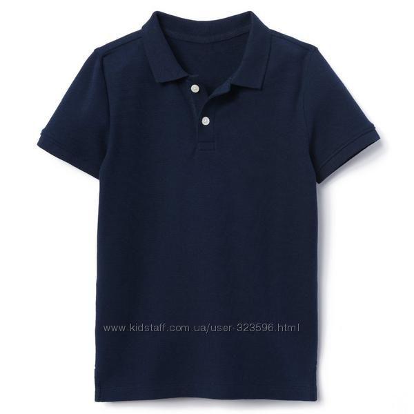 Футболка поло для мальчика 5-7, 7-9,10-12 лет Uniform Gymboree