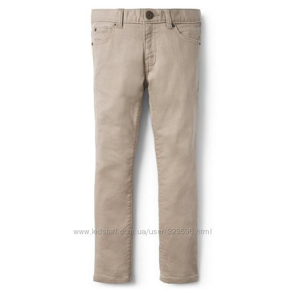 Стрейчовые джинсы скинни для мальчика 8, 10 лет Crazy8