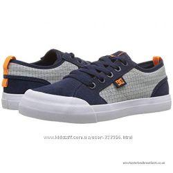DC Shoes Кеды кроссовки для мальчика натур. замш 32 EUR
