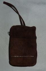Барсетка мини сумка EWA, кожа