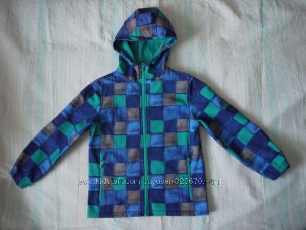 Софт Шелл Куртка бу  на мальчика, р. 134, ТМ YIGGA