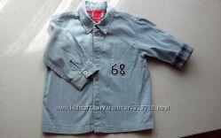 Прикольная рубашка ESPRIT BABY 86р.