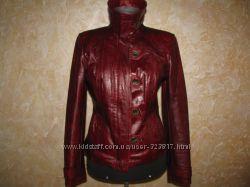 Кожаная куртка масляная Кожа