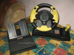 Игровой руль MediaTech CYBER RACE MT175 DUAL ACTIO