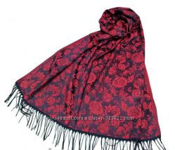 Красивые теплые шарфы палантины
